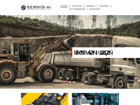Serwis-ai.pl naprawa silników koparek