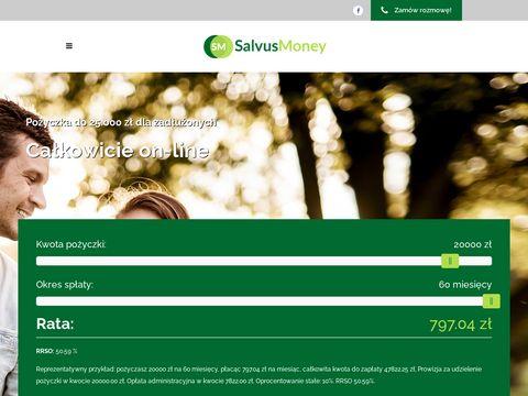 Salvusmoney.pl pożyczki z żyrantem