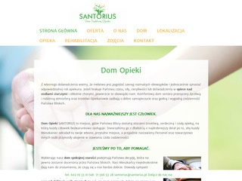 Santorius dom opieki