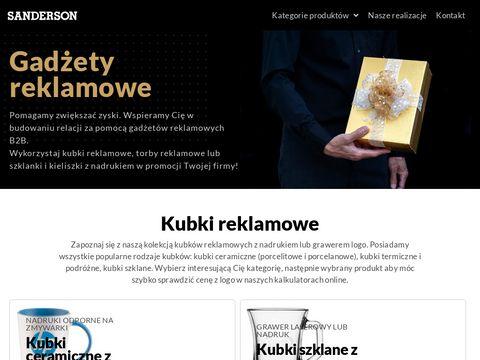 Sanderson.pl producent kubków reklamowych