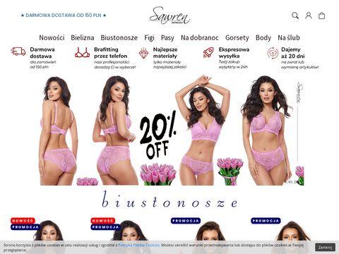 Sawren.pl sklep z bielizną