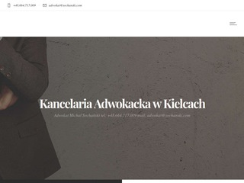 Sochanski.com dochodzenie odszkodowań Kielce