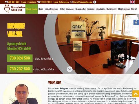Sowaonline.eu biuro rachunkowe Łódź