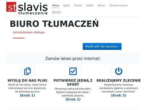 Slavis.net - tłumaczenia techniczne