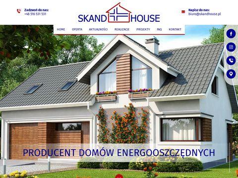 Skandhouse.pl drewniane domy szkieletowe