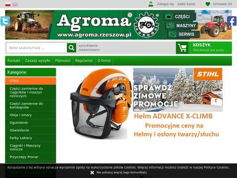 Agroma Rzeszów - części do ciągników i maszyn