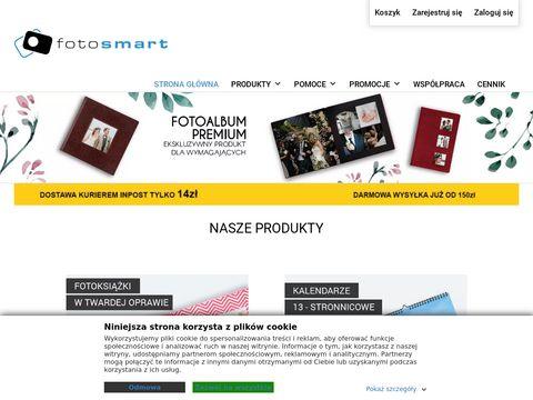 Sklep.fotosmart.com.pl producent fotoksiążek