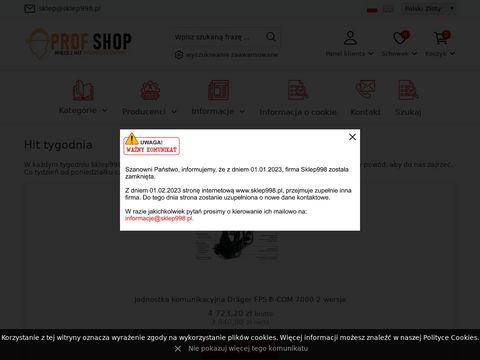 Sklep998.pl dyski sygnalizacyjne