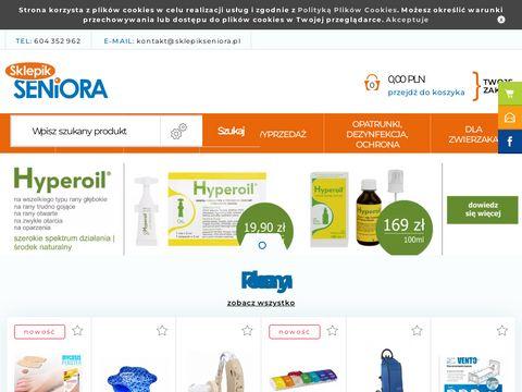 SklepikSeniora.pl - pampersy dla dorosłych