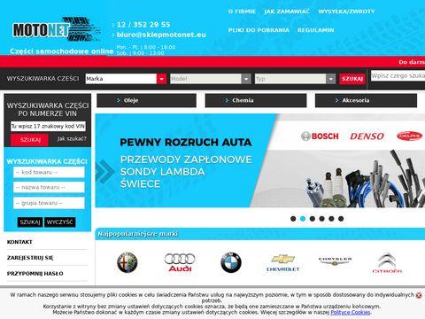 Sklepmotonet.eu auto części Kraków