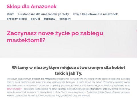 Sklepamazonka.pl biustonosze