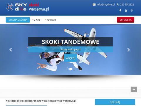 Skokiwarszawa.pl skoki w tandemie