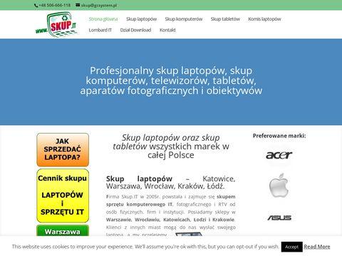 Skup-laptopow.com lombard sprzętu IT