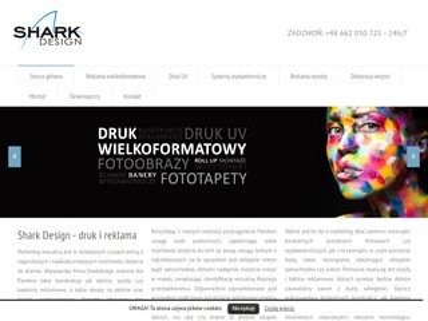 Sharkdesign.pl drukarnia wielkoformatowa