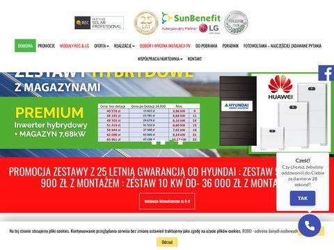 Sunbenefit.pl dotacje na fotowoltaikę