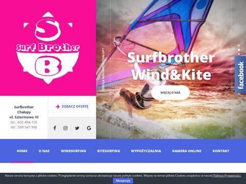 Surfbrother.com.pl nauka kitesurfingu Chałupy