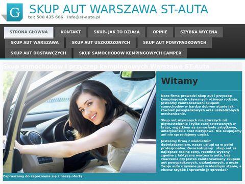 St-auta.pl skup aut uszkodzonych