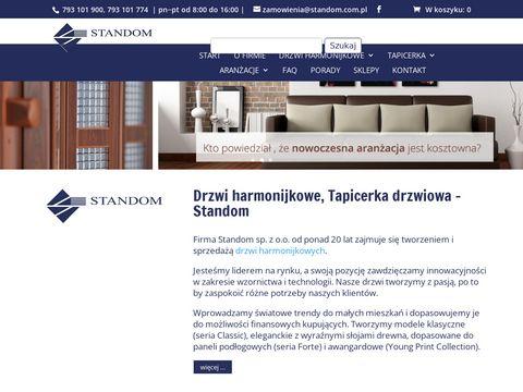 Standom.com.pl drzwi harmonijkowe