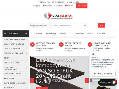 Stalglass.com szklane balustrady