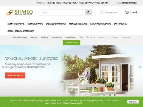 Stimeo - sprzedaż domków ogrodowych