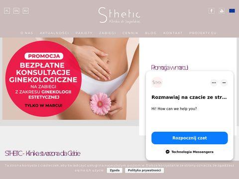 Sthetic - usuwanie przebarwień Warszawa