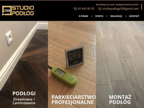 Studiopodlogz53.pl podłogi Lublin