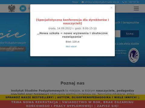 ISP studia podyplomowe Śląsk
