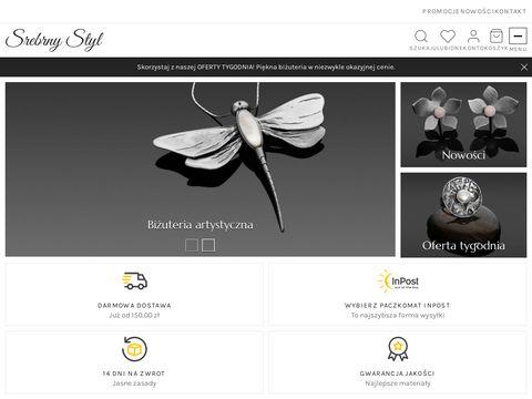 Srebrnystyl.pl biżuteria artystyczna