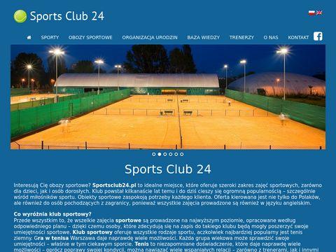 Sportsclub24.pl szkółka tenisowa