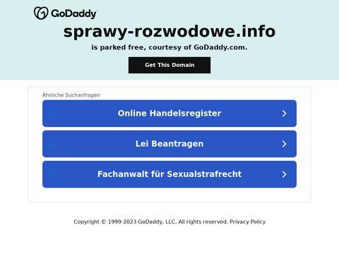 Sprawy-rozwodowe.info adwokat rodzinny