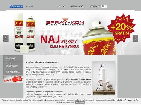Spray-Kon-Sta-Put - kleje kontaktowe
