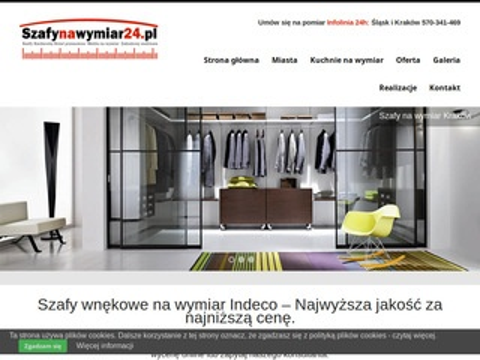 Szafynawymiar24.pl - garderoby