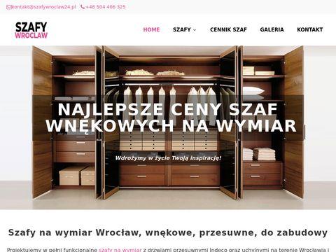 Szafywroclaw24.pl wnękowe