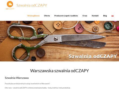 Szwalnia.odczapy.pl - szycie koszulek