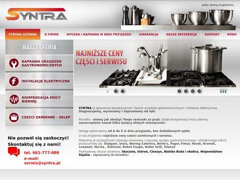 Syntra.pl instalacje elektryczne kompensacja mocy