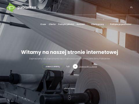 Pabiantex.com.pl konfekcja techniczna