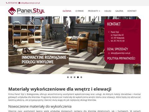 Panelstyl.com.pl listwy dekoracyjne