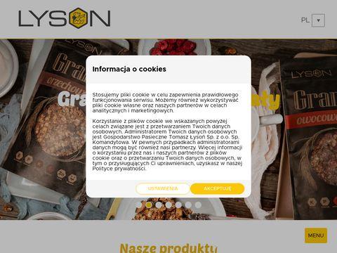 Pasiekalyson.pl produkty z miodu