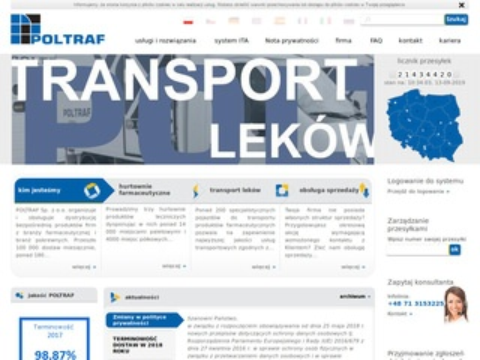 Poltraf.pl transport leków