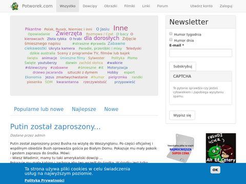Potworek.com - portal rozrywkowy