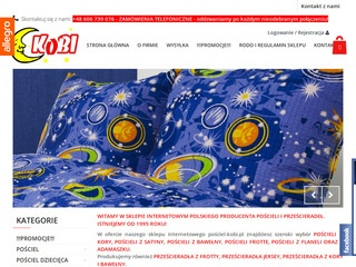 Posciel-kobi.pl producent
