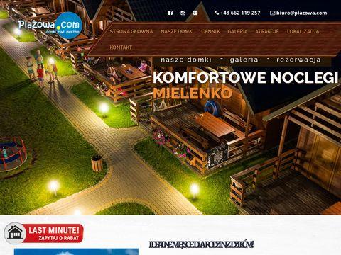 Plazowa.com domki letniskowe Mielenko