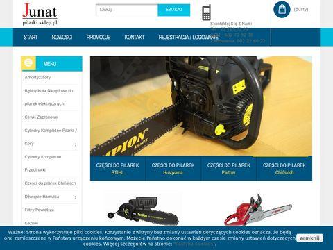 Pilarki.sklep.pl części do pilarek Partner