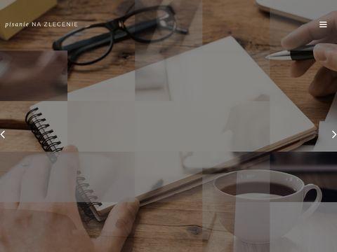 Pisanie-na-zlecenie.com.pl magisterskich