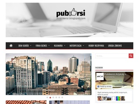 Publikersi.blogspot.com - artykuły i publikacje