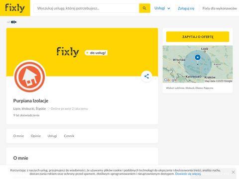 Purpiana.pl - docieplenia natryskowe