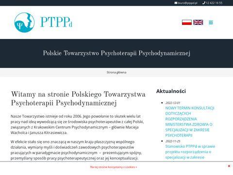 Ptppd.pl towarzystwo psychodynamiczne