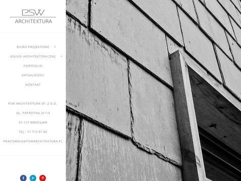 Pswarchitektura.pl wzornictwo