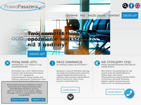 Prawopasazera.pl odszkodowanie za lot