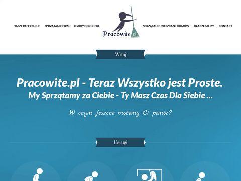 Pracowite.pl sprzątanie firm Warszawa